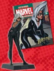 Classic Marvel Figurine Collection #020 Black Cat Eaglemoss Publications